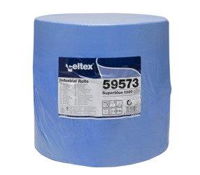 CELTEX 59573 360m niebieskie CZYŚCIWO CELULOZOWE