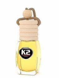 K2 VENTO Zapach samochodowy 8ml LEATHER stopniowa aplikacja Zawieszka
