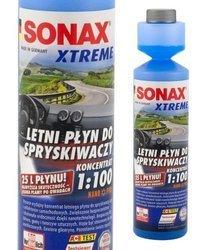 Sonax Koncentrat płyn do spryskiwaczy LETNI z 250ml otrzymasz 25L