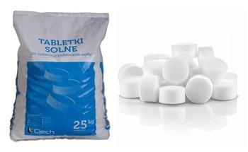 Tabletki solne 25kg do zmiękczania i regeneracji wody używanej