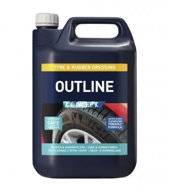 CONCEPT Outline Tyre 5L Renowacja opon gumy Satyna