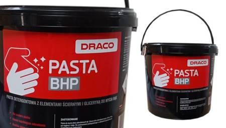 Draco pasta BHP do mycia rąk na SILNE ZABRUDZENIA smar farba olej 5L