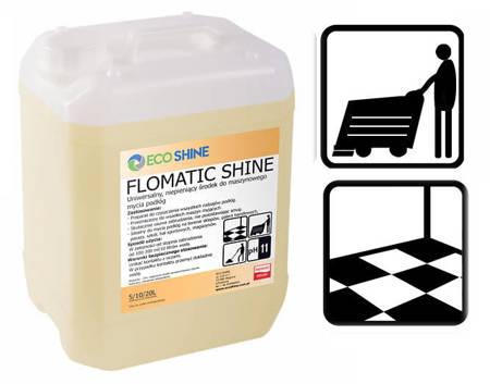 ECO SHINE FLOMATIC SHINE 5L Skoncentrowany płyn do maszynowego mycia podłóg  bezapachowy