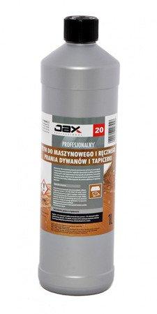 Jax 20 Płyn do Prania Dywanów Mebli tapicerki 1L