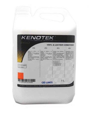 Kenotek Pro VINYL&LEATHER conditioner 5L czyszczenie plastików kokpitu skóry
