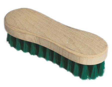SZCZOTKA zielona czyszczenie tapicerki skórzanej
