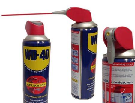 WD-40 450ml  Smaruje i Odtłuszcza z aplikatorem ze Słomką Wielofunkcyjny