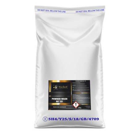 Youtech POWDER WASH AG 101 25kg szampon w proszku Mycie wstępne i zasadnicze Proszek do myjni samochodowej