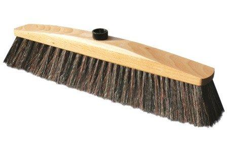 miotła DREWNIANA 40cm włosiem naturalnym podjazdy
