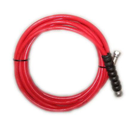 wąż do myjni termoplastyczny 5,5m czerwony